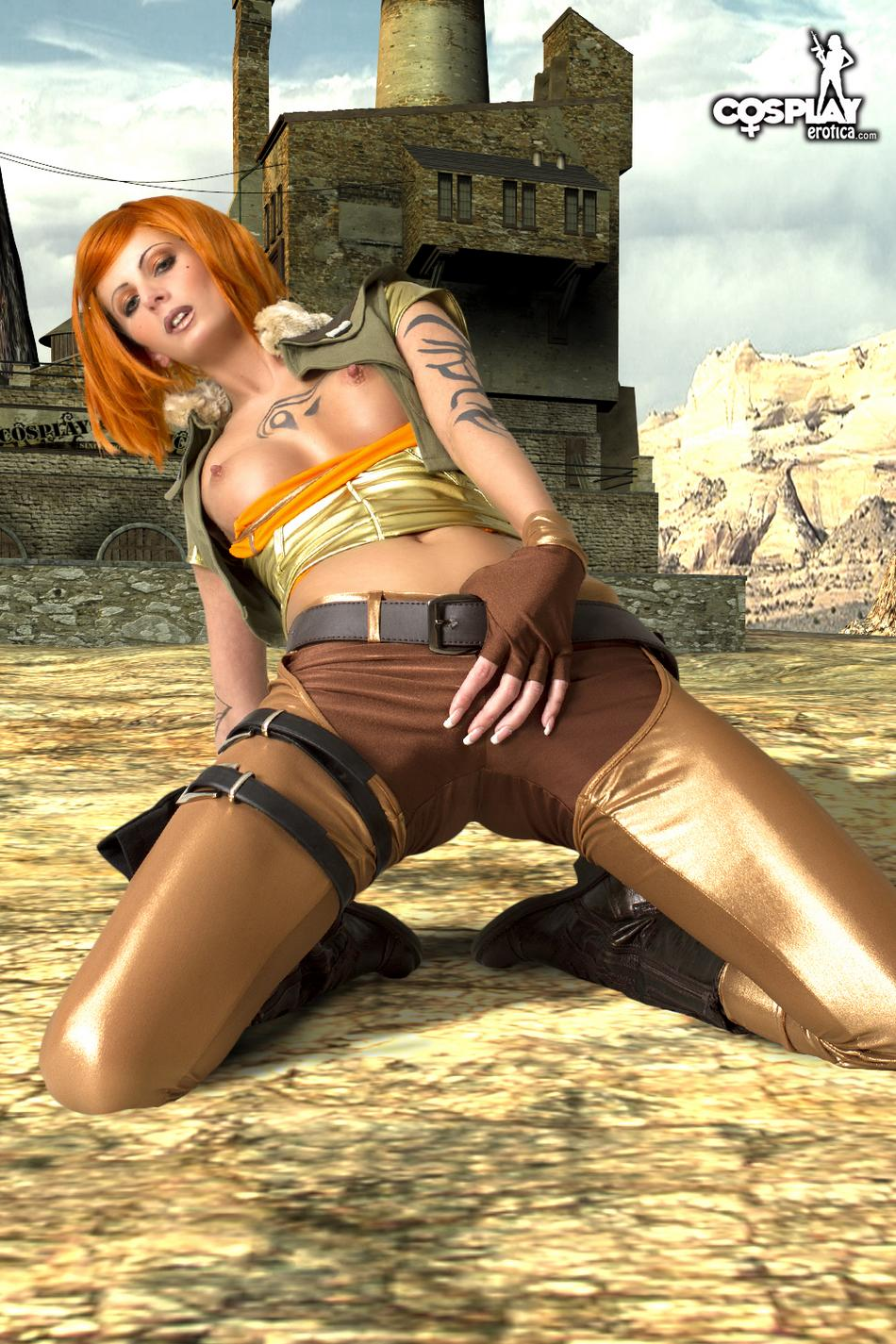Naked borderlands siren pron scene