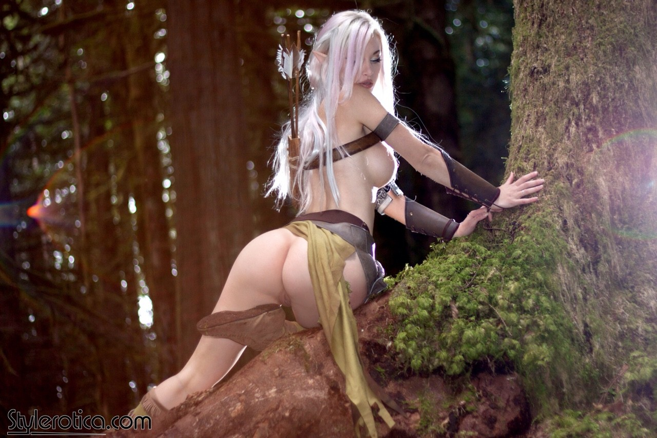 Naked women in elf costumes nsfw clip