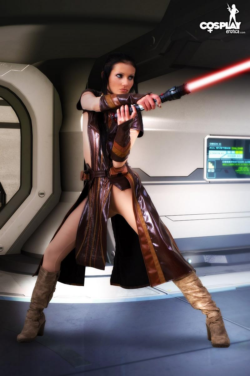 Cosplay naked star wars erotic movie