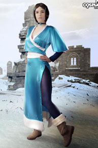 Nickelodeons Katara cosplay