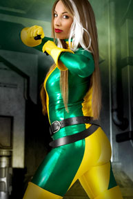 rogue from x-men cosplay