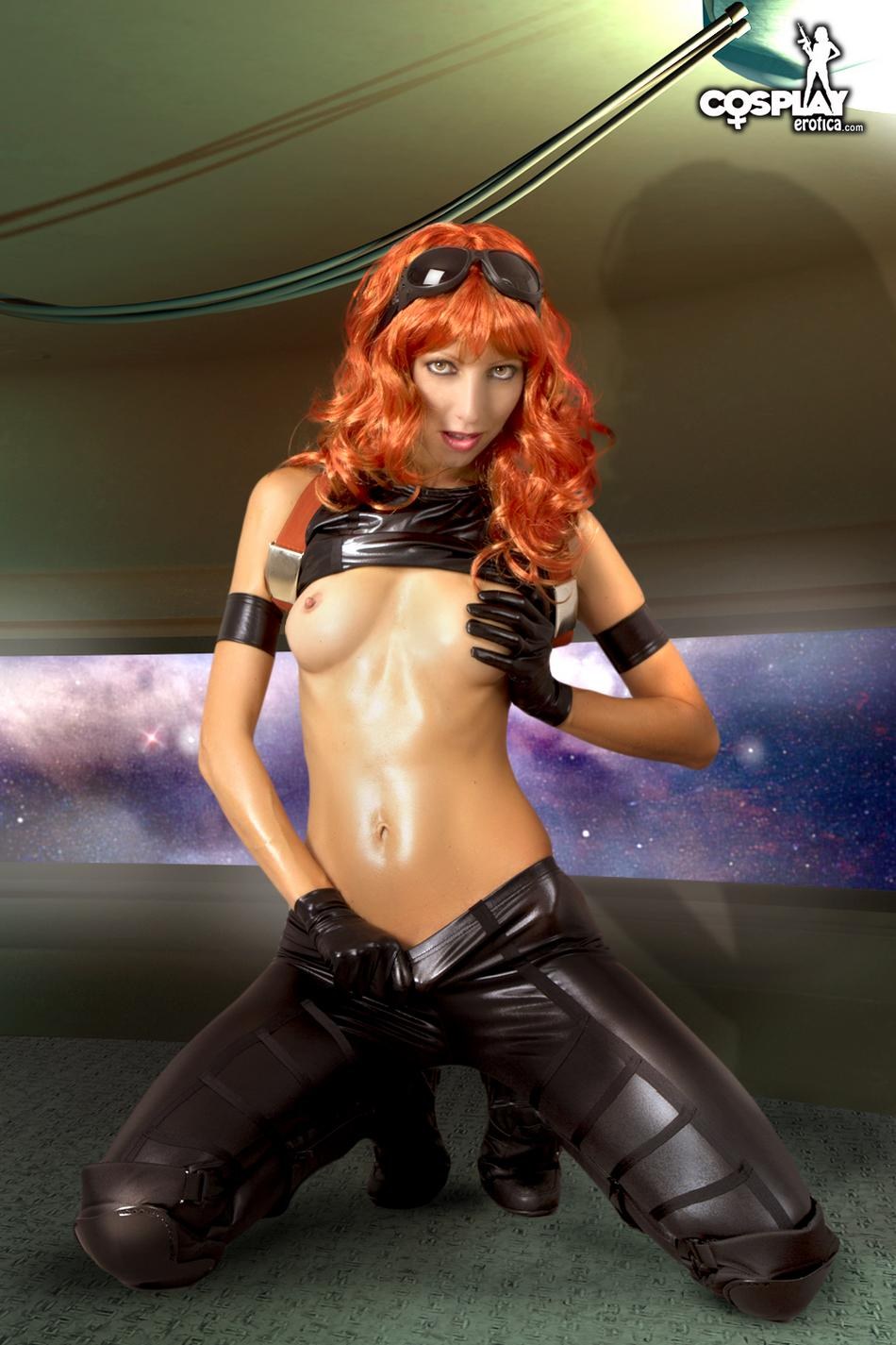 Cosplay naked star wars naked comics